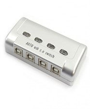 USB Auto Printer Sharing 4 Port