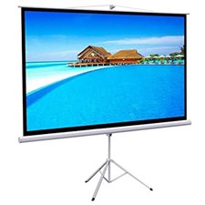 6X8 Tripod Projection Screen