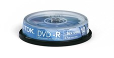 TDK DVD-R 10 Pack Spindle