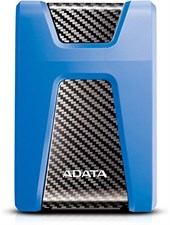 ADATA HD650 USB 3.1 Shock-Resistant External Hard Drive, Blue (2 TB)