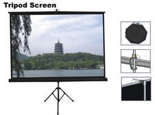 6x6 Tripod Projection Screen
