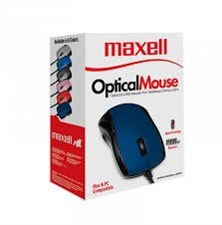 Maxell Optical Mouse MOWR-101 -1000 dpi, USB, Red - Maxell