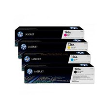 HP 126A Toner Cartridge 4 Color Set Orignal