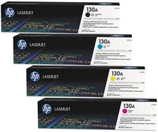 HP 130A Toner Cartridge 4 Color Set