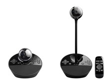 BCC950 Webcam, speakerphone, remote for groups of 1-4 people